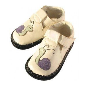 NWT Off-White Snails Infant Toddler Leather Shoes